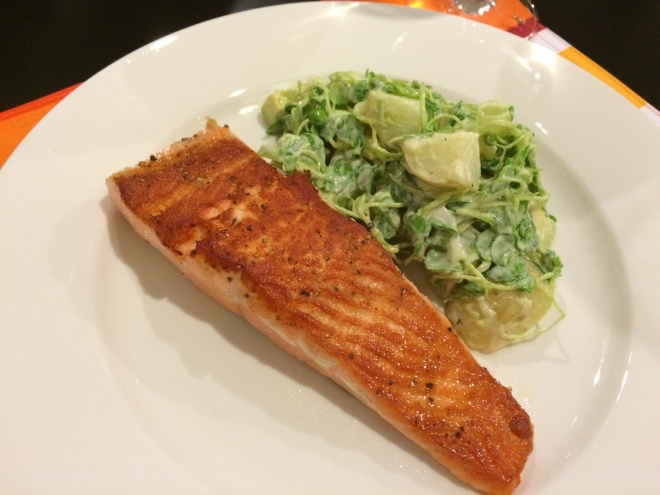 Salmon & Watecress