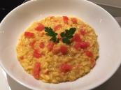 Tomato & saffron risotto