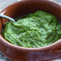 "Basil Pesto - and the ""king of herbs"""