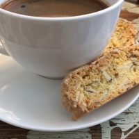 Biscotti and Espresso - the perfect pairing